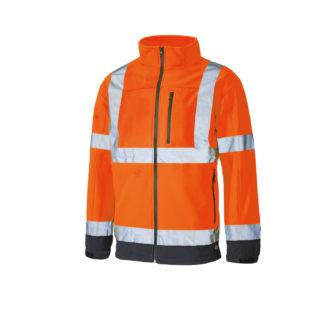 Dickies Hi Vis Softshell Jacket (Orange)
