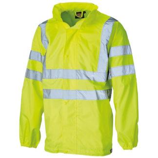 Dickies Hi Visibility Lightweight Waterproof Jacket