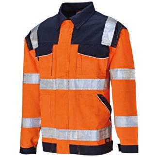 Dickies Industry Hi-Vis Jacket (Orange)