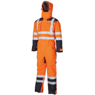 Dickies Waterproof Hi-Vis Safety Coverall (Orange)